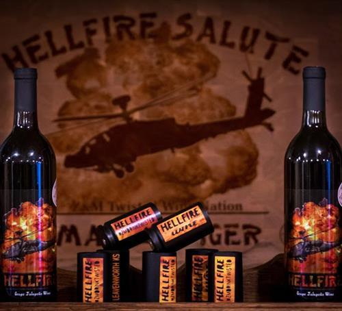 Hellfire Wine -Red Grape Jalapeno