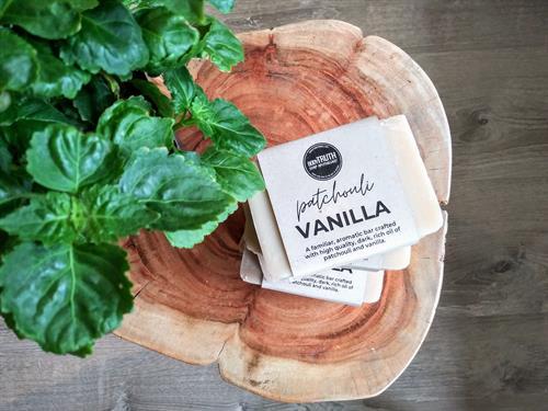 Patchouli & Vanilla Shea Butter Soap