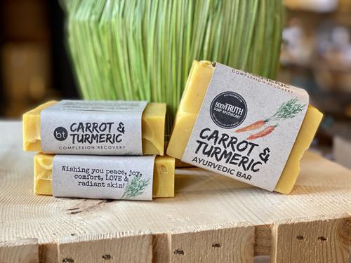 Fresh Carrot & Turmeric Bar Soap