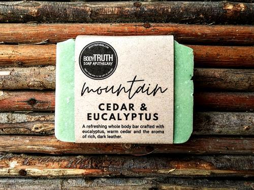 Mountain Cedar, Hydrating Olive Oil Bar Soap
