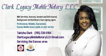 Clark Legacy Mobile Notary, LLC