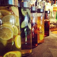 Infusions from our Mad Scientist, Evan Epperson, Bar Manager