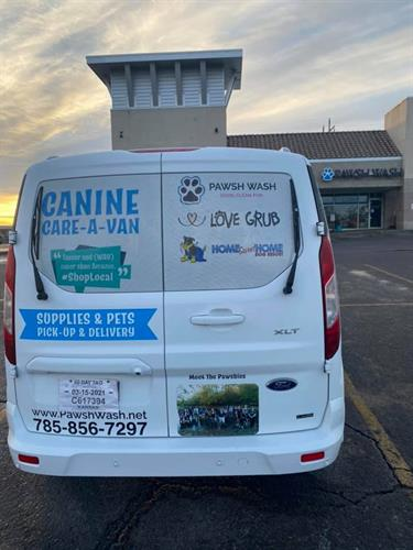 The Canine Care-A-Van at Pawsh