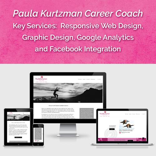 Website for Paula Kurtzman Career Coach, New York , NY