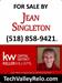 Realtor - Jean Singleton, Associate Broker, Keller Williams Capital District Realty