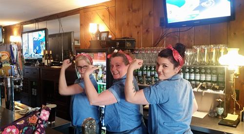 Rosie Riveter Staff