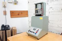 Crush tester in our full service testing lab