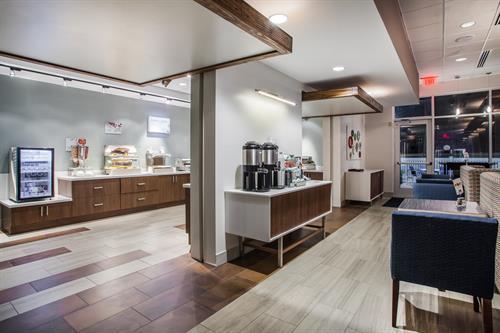 Coffee / Breakfast Area