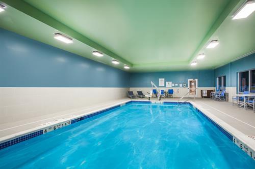 Indoor, Heated Pool