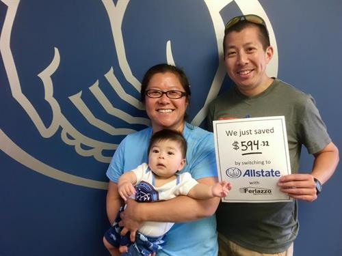 The Ferlazzo Agency helped this family, too!