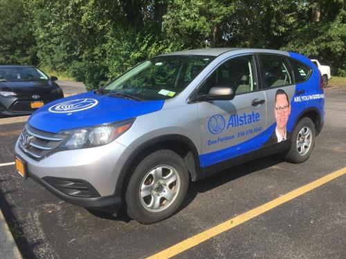 Have you seen the Quotemobile around Clifton Park?