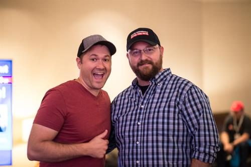 Dan Currier (right) and Tim Schmoyer (left)