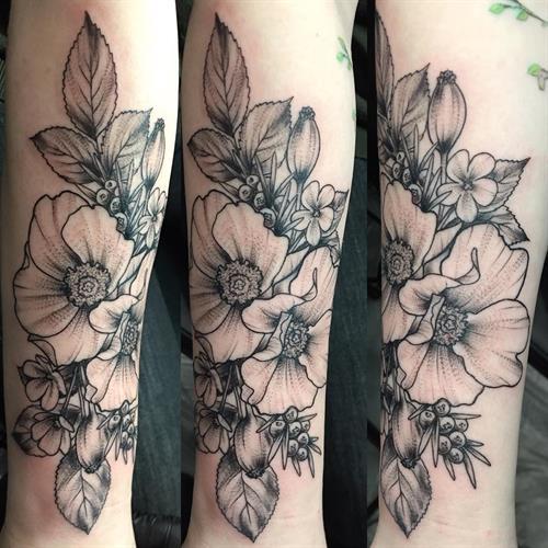 Tattoo by Bridget Punsalang