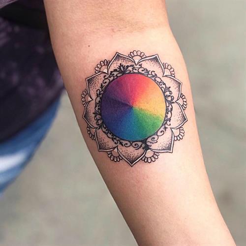 Tattoo by Cassandra Sanik