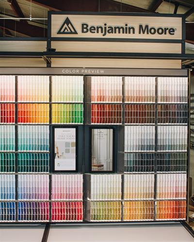 Benjamin Moore Paint Studio