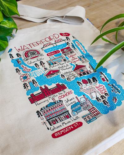Waterford/Cohoes Map Tote