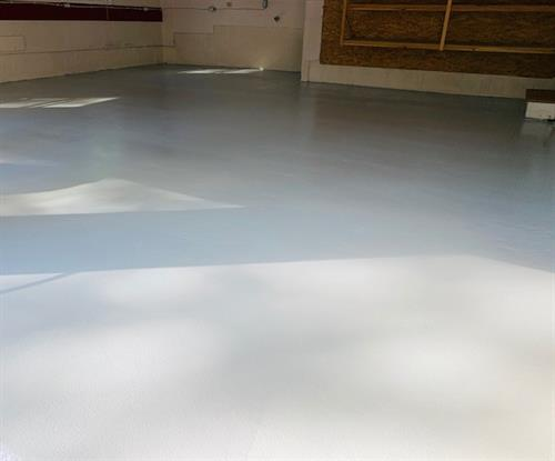 Residential Garage Epoxy Floor System
