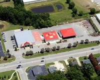 An aerial view of our store.
