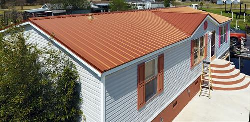 We have 19 roofing colors to choose from