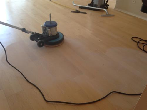 Hardwood Flor Refinishing