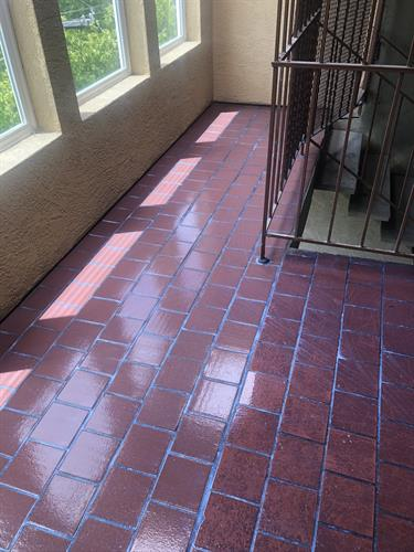 Completed Tile Repair
