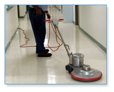 VCT Floor Stripping & Polishing