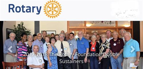 CV Rotary Raising Funds for Polio Eradication around the world (and getting very close).