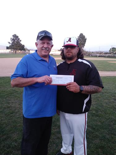 Arroyo High School Baseball Team Donation - $500