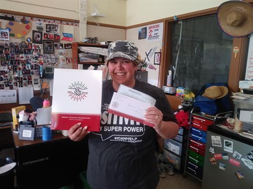 Arroyo High School Swim Team Donation - $500