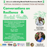 Virtual BCN-Conversations on Resilience & Mental Health (Healthy RC)
