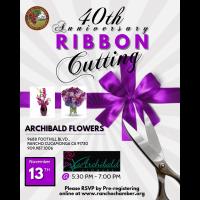 Ribbon Cutting Archibald Flowers