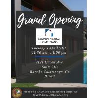 Grand Opening/Ribbon Cutting @ Rancho Capital Home Loans