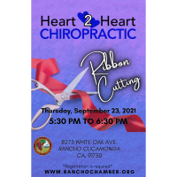 Ribbon Cutting- Heart 2 Heart Chiropractic