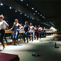 Pure Barre tones thighs, shapes, seat, tightens up abs in as little as 3-4 times a week.