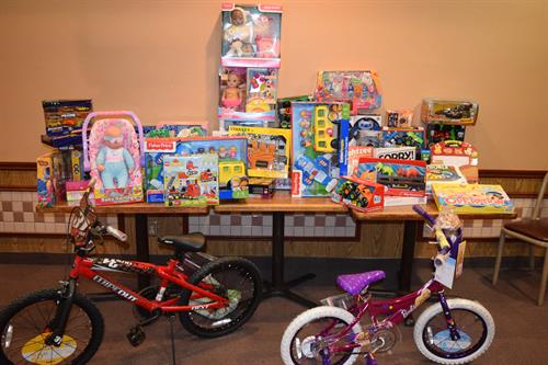 """Every holiday season, we collect and distribute 37,000+ toys to children.  Every child needs to know that they were a """"good"""" boy or girl and that they are loved and remembered."""