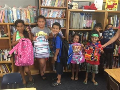 Every summer, we collect backpack and school supplies for foster and other youth so they are ready for the new school year.