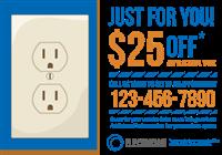 Electrician Postcard Mailer