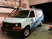 Finished Van Wrap Installation
