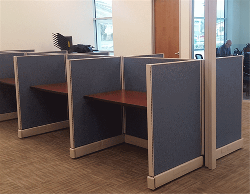 4' x 4' Workstations