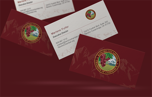 Rancho Cucamonga Business Cards