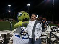 Dave & Aftershock @ the Quakes Game - Mike Gaumer Nite