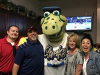 Tremor @ the Quakes Game with the Gaumer Agency