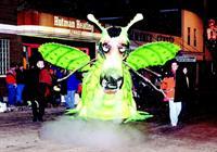 "Magical ""Puff"" - Abbotsford Christmas Parade"