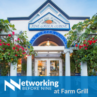 Networking before Nine at Farm Grill