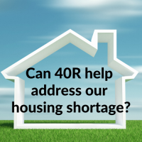 Can 40R help address our housing shortage?