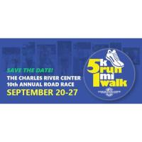 Member Event: Virtual 5K Run/1 Mile Walk to Support the Charles River Center