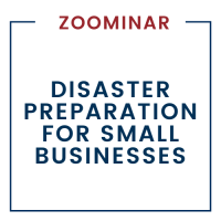Disaster Preparation for Small Business