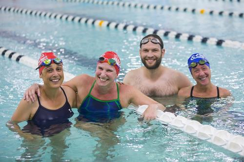 The tight-knit community of the Masters Swim Team