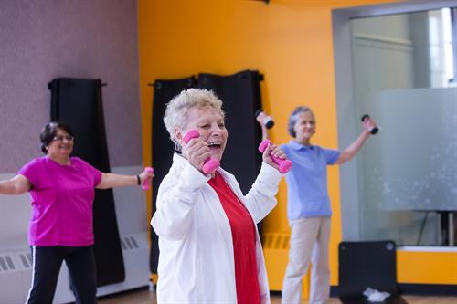 The Y offers fitness and wellness classes tailored specifically to older adults