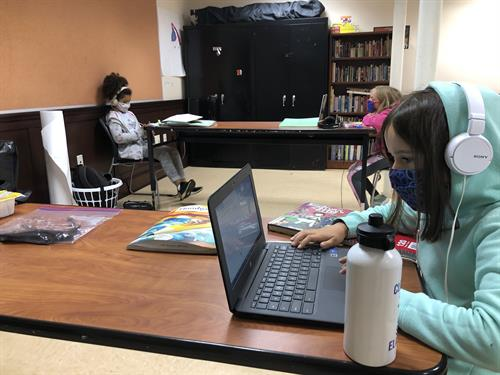 "Out of School Time ""Community Connections"" provides remote learning support for students in grades K-8."